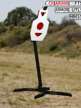 XMetal Targets Armored FTS Tactical BC Combo Steel Targets
